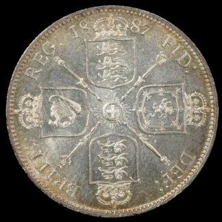 Great Britain 1887 Half Crown S 3924 UNC – Imperial Numismatics